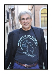 Orhan Pamuk. credit photo sedatmehder.com