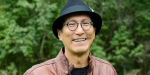 Richard Wagamese at the Eden Mills Writers' Festival in 2013